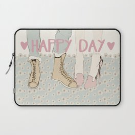 HAPPY DAY Laptop Sleeve
