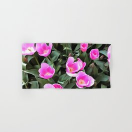 Delicate Pink Tulips Of Istanbul Hand & Bath Towel
