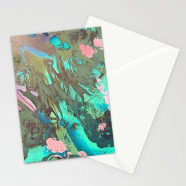 Carribean marble Stationery Cards