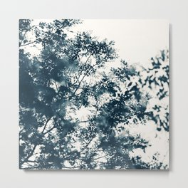 Blue Leaves #1 Metal Print