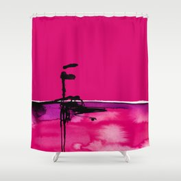 Introspection No. 20M by Kathy Morton Stanion Shower Curtain