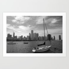Lakeside Chicago Art Print