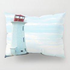 Old Lighthouse, Blue Ocean Pillow Sham