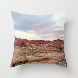 Nevada Mountains 8-7 Throw Pillow