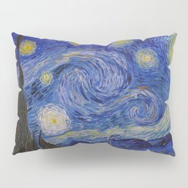 The Starry Night by Vincent van Gogh (1889) Pillow Sham