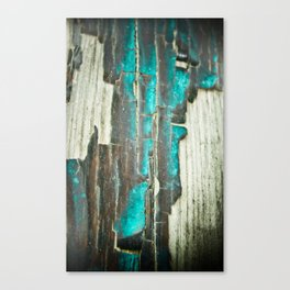 Weathered and Worn Canvas Print