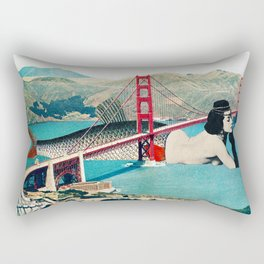 Mermaid Three Rectangular Pillow
