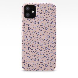 Memphis Pattern 12 - 80s Retro iPhone Case