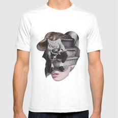 Woman Mens Fitted Tee White SMALL