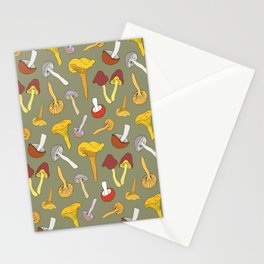 Wild Mushroom Toss in Dill Stationery Cards