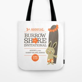 RIA - Burrow Shore Invitational Tote Bag