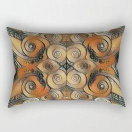 Coiled Metals Rectangular Pillow
