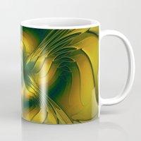 golden Mugs featuring Golden by gabiw Art
