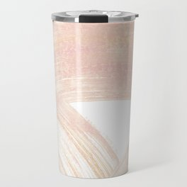 Pink Swipes Travel Mug