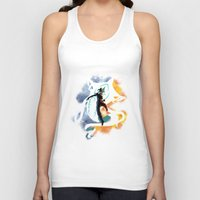 aang Tank Tops featuring THE LEGEND OF KORRA by Beka