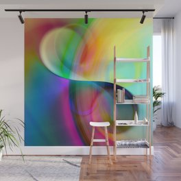 color whirl -30- Wall Mural