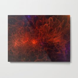 Zoooooz Out of Space - Hubble has not seen Metal Print
