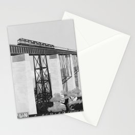retro old The Old Reliable poster Stationery Cards