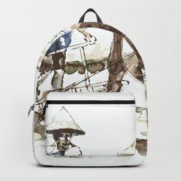 Vietnamese Farmer Backpack