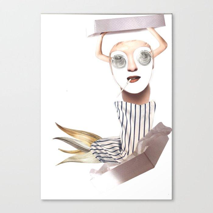 Show Man Canvas Print