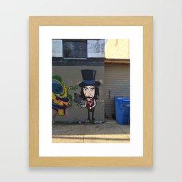 bill the butcher Framed Art Print