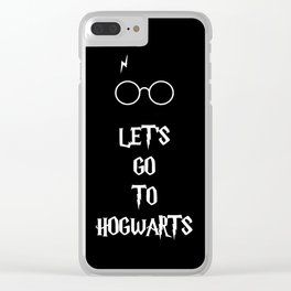 Go to Hogwarts Clear iPhone Case