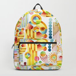 Abstract Art Deco Backpack