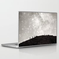 starry night Laptop & iPad Skins featuring Starry Night  by Laura Ruth