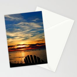 Peace and Relaxation at the Sea shore Stationery Cards