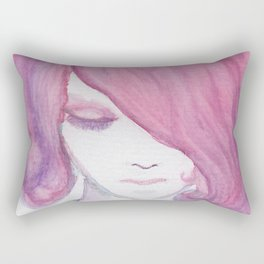Magenta Rectangular Pillow
