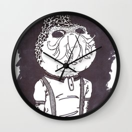 Cthullhu was a Skinhead Wall Clock