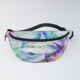 Hydrangea Bouquet Impressionist Painting Fanny Pack