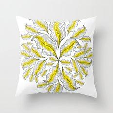 yellow---line Throw Pillow