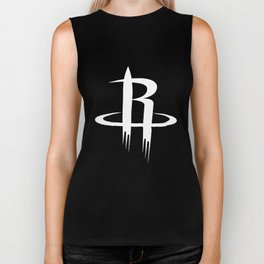 Nba Basketball Men's Rockets Long Sleeve Thermal Basketball T-Shirts Biker Tank
