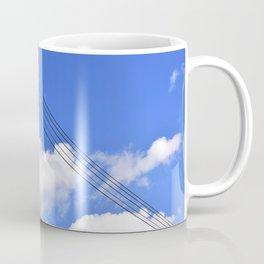 Abstract sky lines Coffee Mug