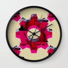 IMPROBABLE GREASE REEL Wall Clock