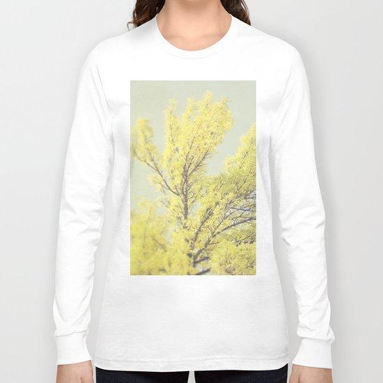 Yellow Tree Long Sleeve T-shirt