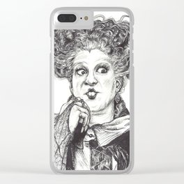 Winifred Sanderson Clear iPhone Case