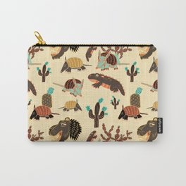 Desert Creatures Carry-All Pouch