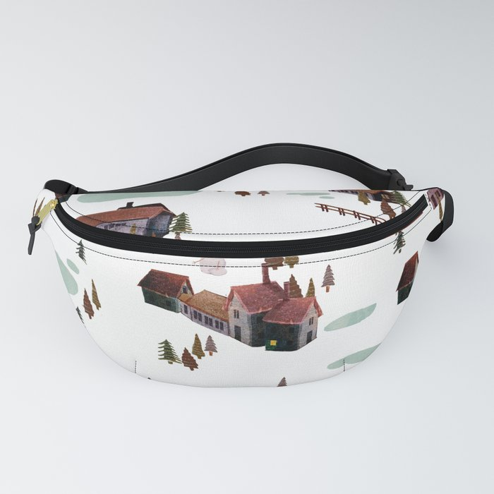 cold village Fanny Pack