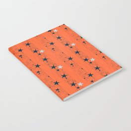 Orange Juice Stars Notebook