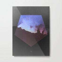 Etna BW2 1983 Metal Print