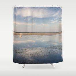 Sunset in Estonia Shower Curtain