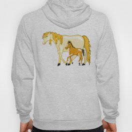 Mare And Foal Love Hoody