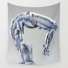 Bend Over Backwards Wall Tapestry