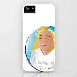 Happiness Project! iPhone Case