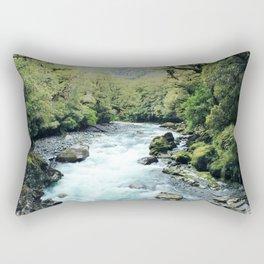 New Zealand river Rectangular Pillow