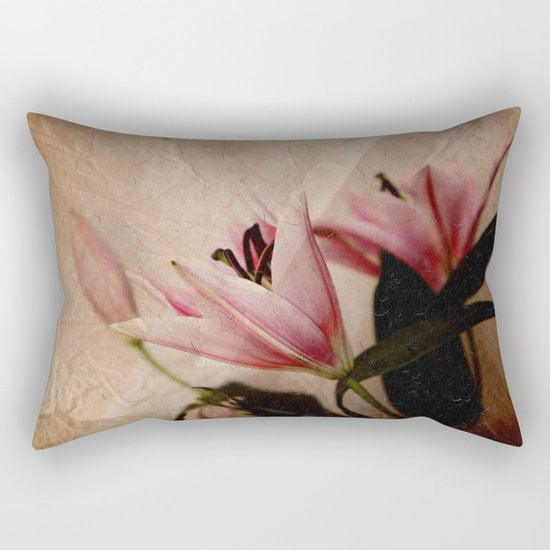 Flowers for a dream Rectangular Pillow