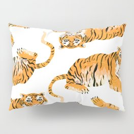 Painted Tiger Pillow Sham