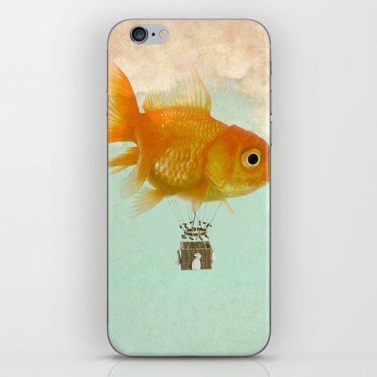 balloon fish 03 iPhone & iPod Skin